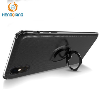2018 New Mobile Phone Accessories for iphone X Ring Buckle Design Case Wholesale 360 Protective Cell Phone Case