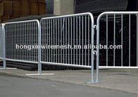 Hot dipped galvanized temporary fence