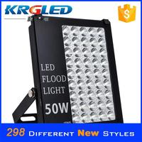 CE ROHS led light outdoor lighting fixture floodlight 50 watt sensor rgb led flood light