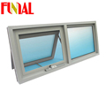 Aluminum frame tempered glass window/commercial aluminum window frames/aluminum window frame mosquito net