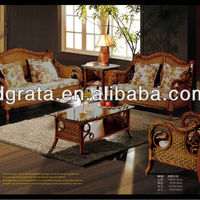 2013 Antique English Cany Sofa Sets