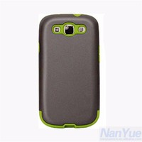 2 in 1 silicone hybrid mobile phone case for samsung galaxy s3