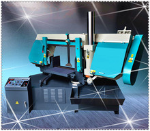 Horizontal angle cut 45 degree 60 degree miter band saw machine