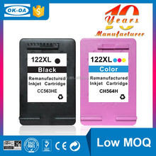 China products waterproof for hp ink remanufactured ink cartridges for HP122XL