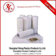 Food grade accept custom order pe/ldpe/lldpe/hdpe pvc stretch cling film machine