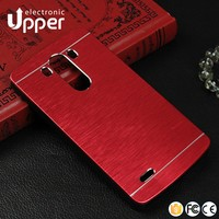 For lg g4 case phone frame bumper rubber cases metal back cover case for LG g4 stylus is770 note cover