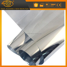 Wholesale Building Glass Tint Solar Reflective Silver Window Film 1.52*30M/roll