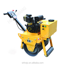 Walk behind single drum road roller, small roller compactor, hydraulic soil compactor