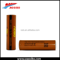 60a 18650 3.7v lithium battery 18650 3.7v rechargeable battery imr 2600mah aosibo