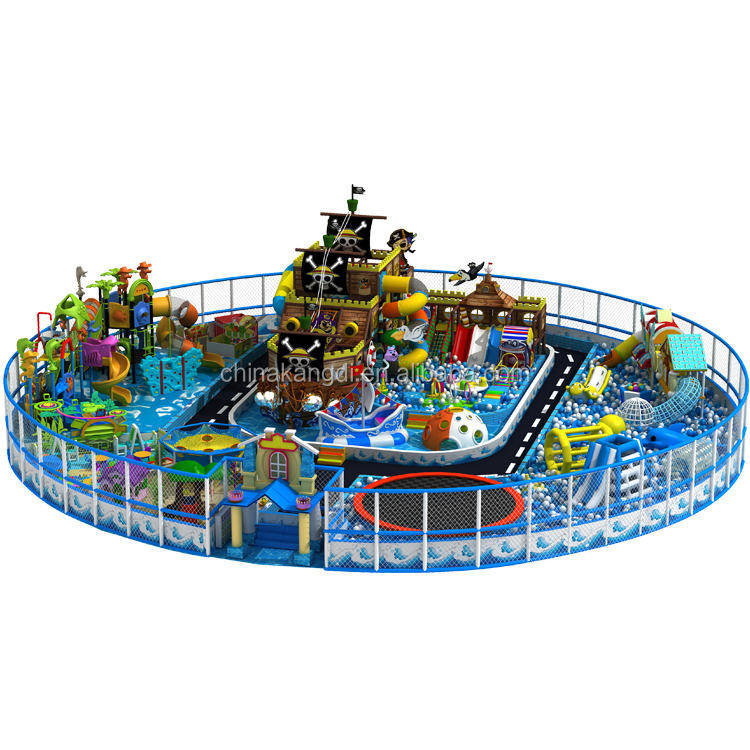 Kids plastic LLDPE Indoor Playground Multifunction Indoor Playground Indoor Inflatable Playground