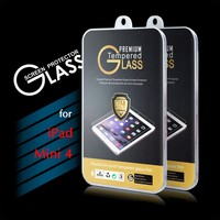 2016 New Arrival 9H 0.3mm 2.5D Premium Tempered Glass Screen Protector Film for iPad Mini 4