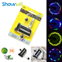 14 LED colorful 30 pictures led motorcycle wheel light