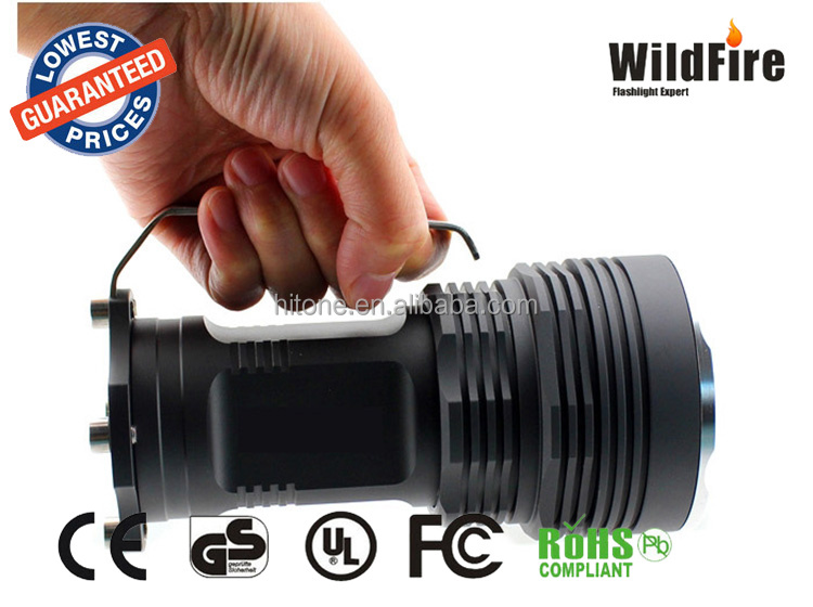 TOP Quality <strong>CREE</strong> XML-T6 5 LED hand held flashlight 4000LM