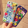 Silicone animals phone cases for iPhone X