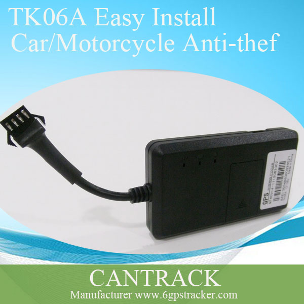 Car gps tracker tk06a with google maps free sever platform