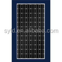 Monocrystalline 300w PV solar panel for home use or industry