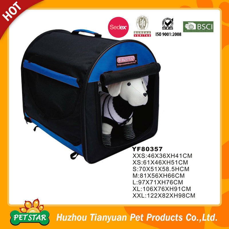 Oxford Waterproof Dog Travel Cage