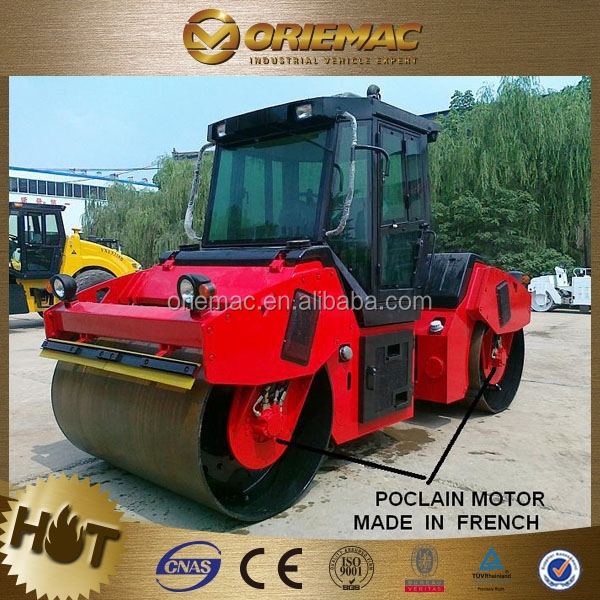 LUTONG mini double drum road roller LTC210 vibratory mini road roller