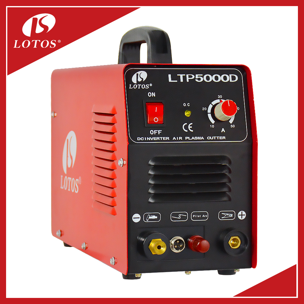 Lotos LTP5000D New Design High Quality Trade Assurance Portable CNC Plasma Cutting Machine LGK 100