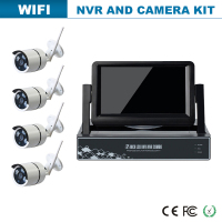wireless home security nvr and high focus cctv camera