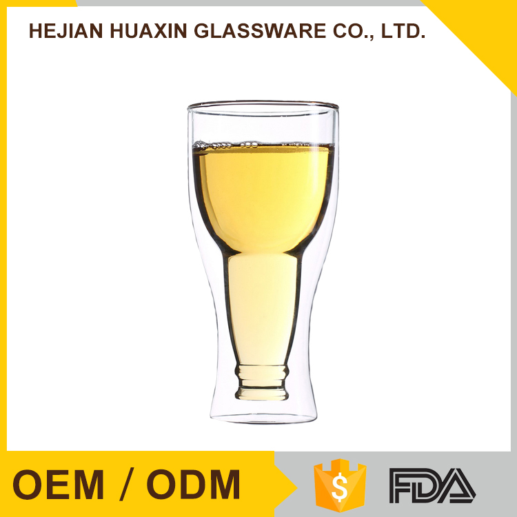 Eco Fashion Professional Creative Pyrex Glass Custom Glassware Beer