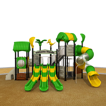 2017 China factory new Tree House series outdoor playground set