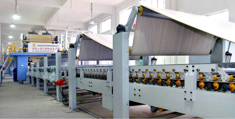 1.8m 5-layer corrugated cardboard production line