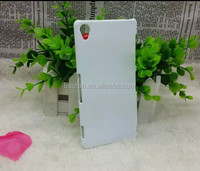 DIY 3D blank sublimation mobile phone cover for sony Z3