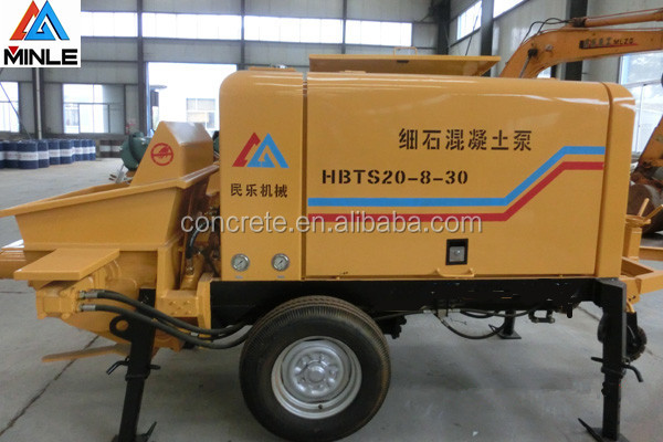 hot sale diesel concrete pumps Machinery Factory good condition easy to operate on site for building construction