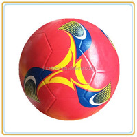 cheap plastic soccer ball new plastic football rubber soccer training club rubber football