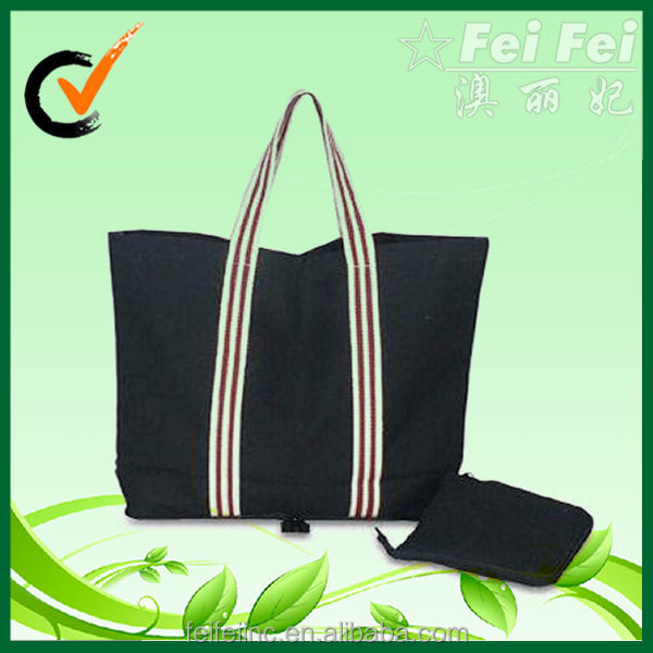Navy canvas shopping bag wholesale