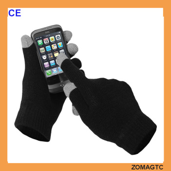 Customized Unisex Acrylic winter mobile cell phone smartphone texting touch screen glove,touchscreen gloves