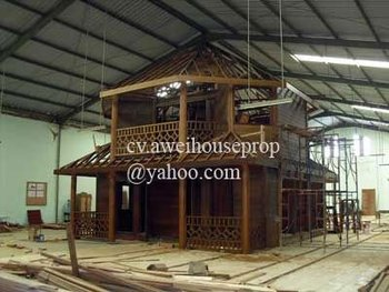 Indonesian Wooden House