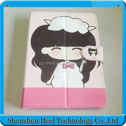 "7 Inch Cartoon Tablet Leather Case,Android Tablet 7"" Leather Case"