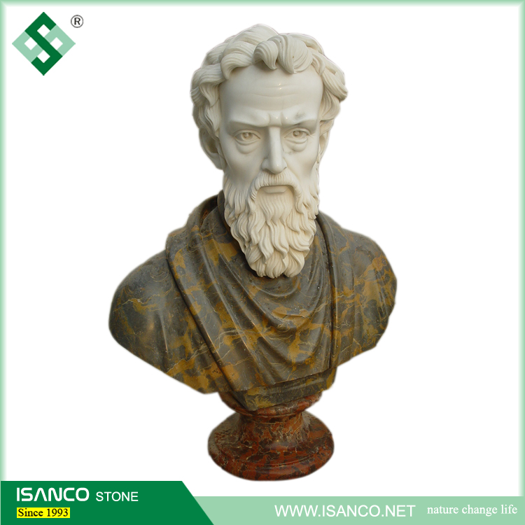 wholesale home decor stone carving figure marble busts for sale
