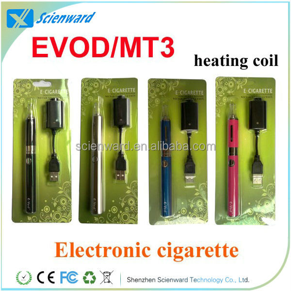 EVOD MT3,Colorful and popular evod starter kits with MT3 Atomizer,welcome OEM