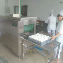 High Precision Stainless Steel Large Commercial Dishwashing Machines For Hotel Using