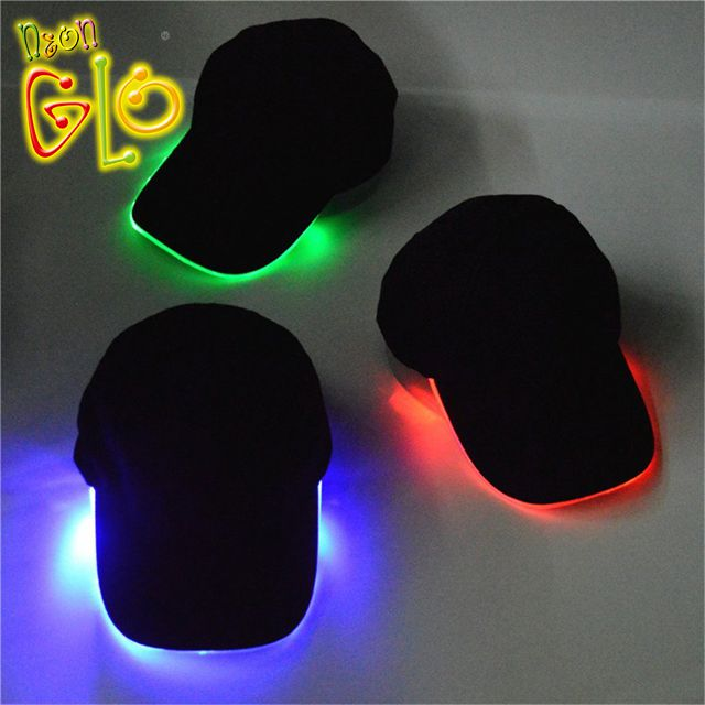 Glow Rave Hat Lighted LED Hat Baseball <strong>Cap</strong>