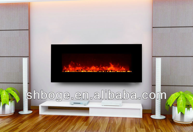CSA passed modern home wall mounted fireplace