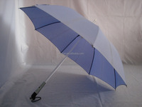 23Inch Straight Promotion LED light Umbrella With Torch Handle