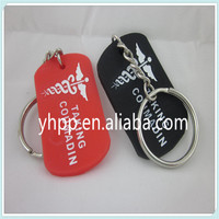 TAKING COUMADIN Silicone Dog Tag Key Chain Ring 2 Colours