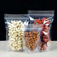 Top clear cookie packaging dried food stand up food pouch