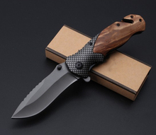 Wood Handle Assisted Open Multi Pocket Knife