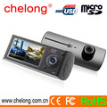 2.7inch Dual camera 140 degree and 120 degree FHD car DVR recorder