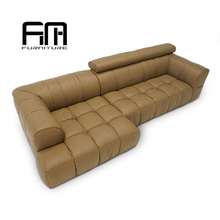 No Inflatable and Three Seat,Living Room Furniture Type Yellow Sofa