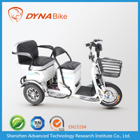 3 wheel electric bicycle for adult with long range