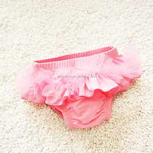 Hot Selling Baby Ruffle Diaper Cover Toddler Infants Bloomers Baby Solid Panties Bloomer Kids Bloomers