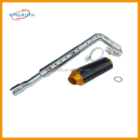 China hot sale steel dirt bike 250cc exhaust