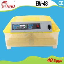 CE approved fully automatic poultry 48 egg incubator for sale made in germany