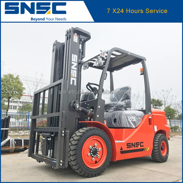 automatic transmission forklift 3500kg load 5M lifting height